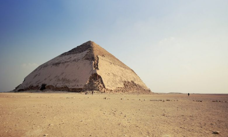 The Bent Pyramid at Dahshur. Shutterstock.
