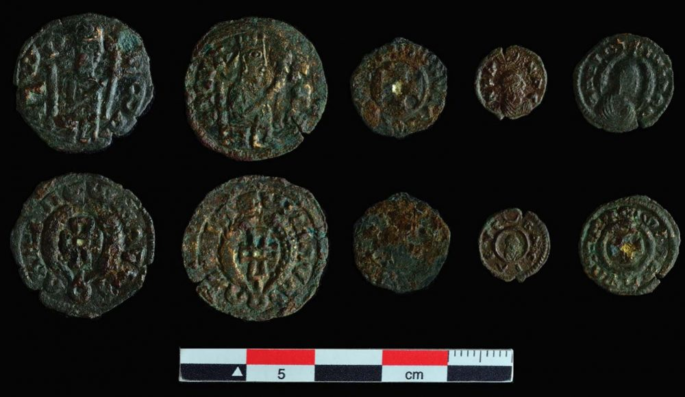 An image of the coins from Beta Samati. Antiquity.