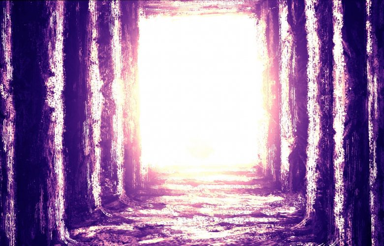 Artists rendering of a an ancient room filled with light. Shutterstock.