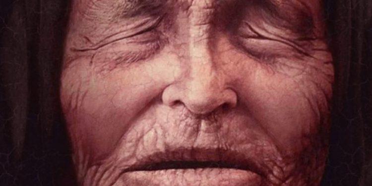 An illustration of Baba Vanga as an old woman. Image Credit: Pinterest.