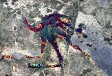 Photo of 44,000-Year-Old Cave Art Reveals Ancient Humans Depicted Shapeshifting Beings