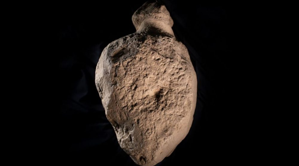 One of the stones that resembles the human shape. Image Credit: Orkney.com