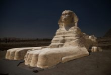 An image of the Great Sphinx of Giza. Shutterstock.