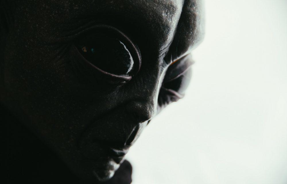 An artist's rendering of a Grey Alien. Shutterstock.
