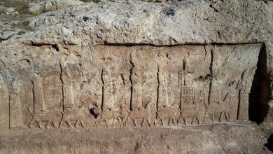 "An image of ancient Assyrian murals. Image Credit: Archaeological project ""Land of Nineveh"" / Il Giornale Dell'Arte."