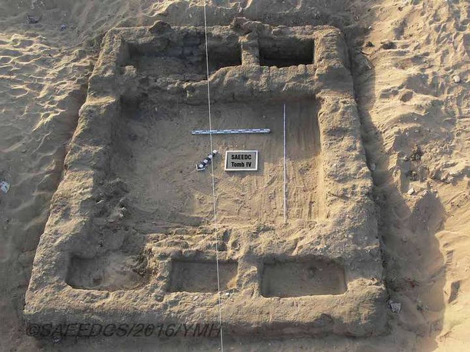 An image of the archaeological remnants of the 7,000-year-old Egyptian City. Image Credit: Egyptian Ministry of Antiquities.