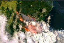 Photo of 5 Images From Space Showing the Devastating Fires in Australia