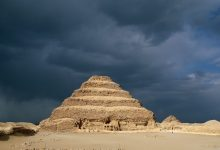 A view of Djoser's Step Pyramid at Saqqara. Shutterstock.