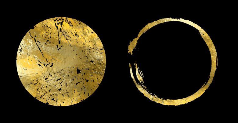 An artists rendering of Gold. Shutterstock.