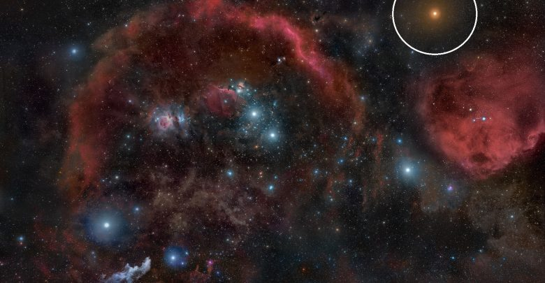 Photo of A Bright Star in the Constellation of Orion is Dimming Mysteriously
