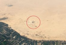 An aerial image of the Saqqara necropolis and the Step Pyramid of Djoser. Shutterstock.