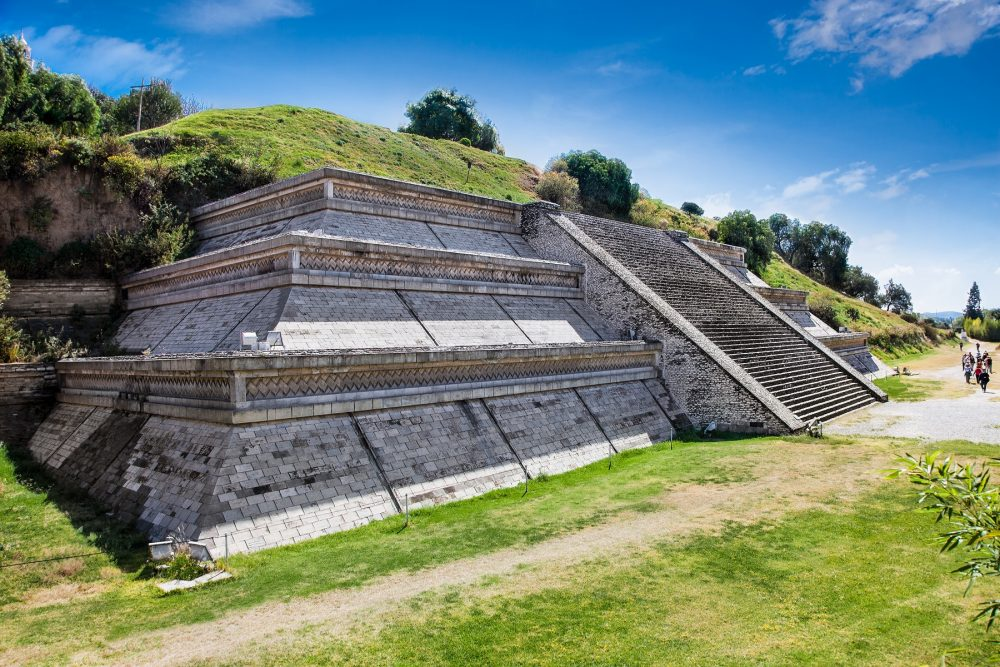 The Great Pyramid of Cholula remains largely unexcavated. Shutterstock.