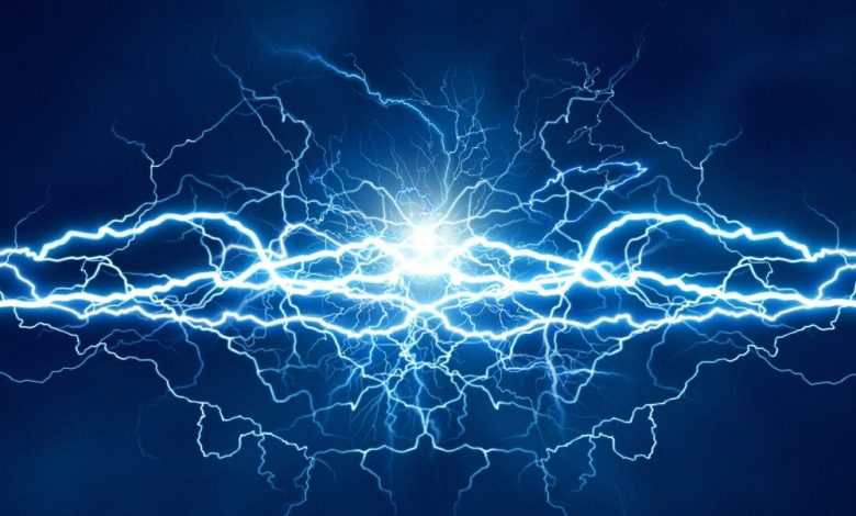 An artist's rendering of electricity. Shutterstock.