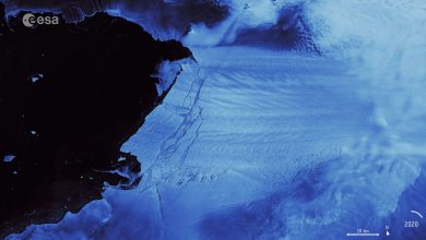Photo of An Iceberg the Size of Malta has Just Borken Off of Antarctica