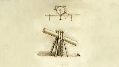 "Photo of Here's Da Vinci's Drawing of the ""Machines"" Mentioned in 440 BC Used to Build Egypt's Pyramids"