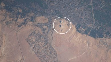 Photo of As Seen From Space: 10 Images of the Ancient Egyptian Pyramids That Are Out of This World