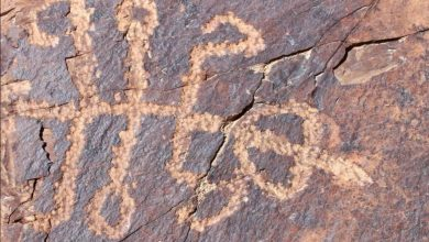 Photo of Ancient Petroglyph Of Half-Human Half-Mantis Creature Stuns Experts