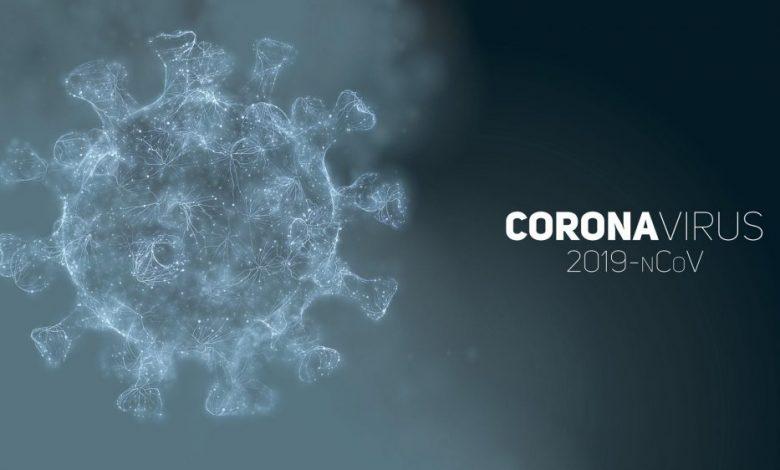Artists illustration of the Coronavirus COVID-19. Shutterstock.