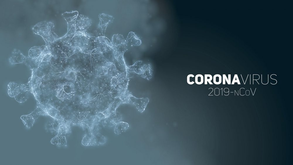Artists illustration of the Coronavirus COVID-19. Shutterstock.
