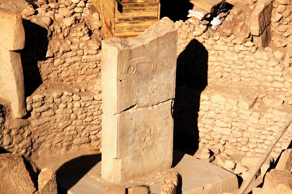 An image of one of the multi-ton stones at Göbekli Tepe. Shutterstock.