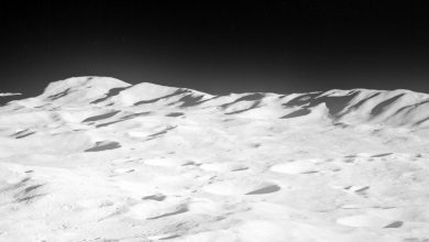 Photo of Surprising Moon Topography: Everest-Sized Mountains On the Moon's South Pole