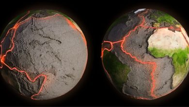 Photo of Earth's Tectonic Plates Were In Motion 400 Million Years Earlier Than Previously Thought