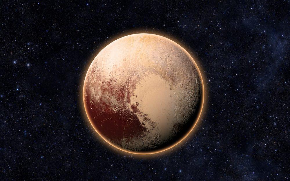 An image of Dwarf Planet Pluto. Shutterstock.