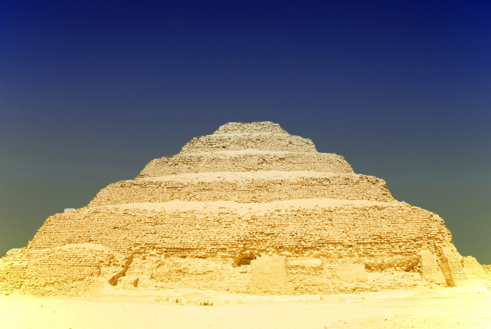 The Step Pyramid of Djoser. Shutterstock.