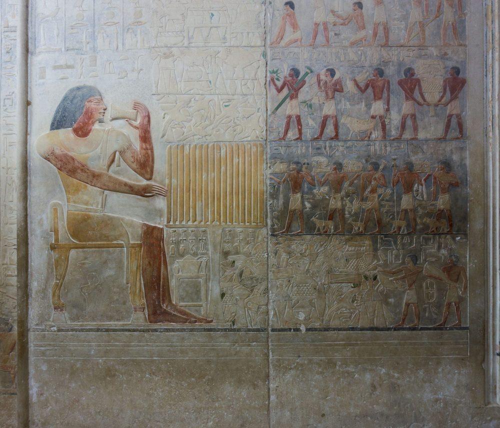 A screenshot of Describing Egypt showing PtahHotep and AkhetHotep Mastaba Middle. Image Credit: Describing Egypt.