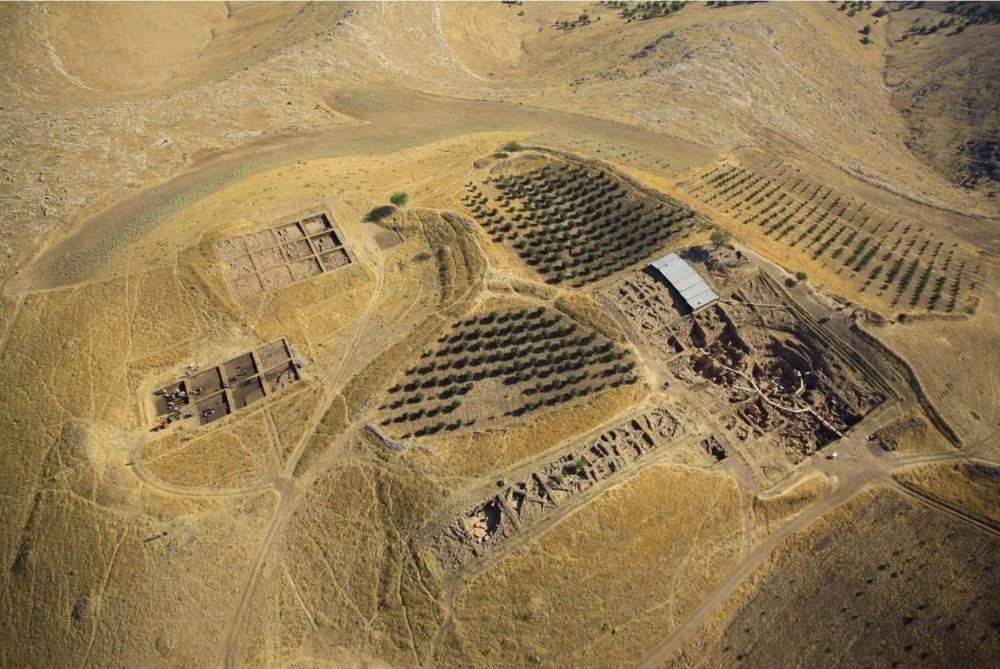 Aerial view of Göbekli Tepe taken in 2013. Image Credit: DAI, Göbekli Tepe Project.