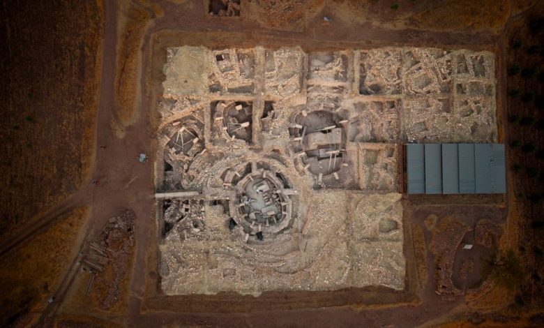 Aerial View of Göbekli Tepe. Image Credit: Göbekli Tepe Project / UNESCO.