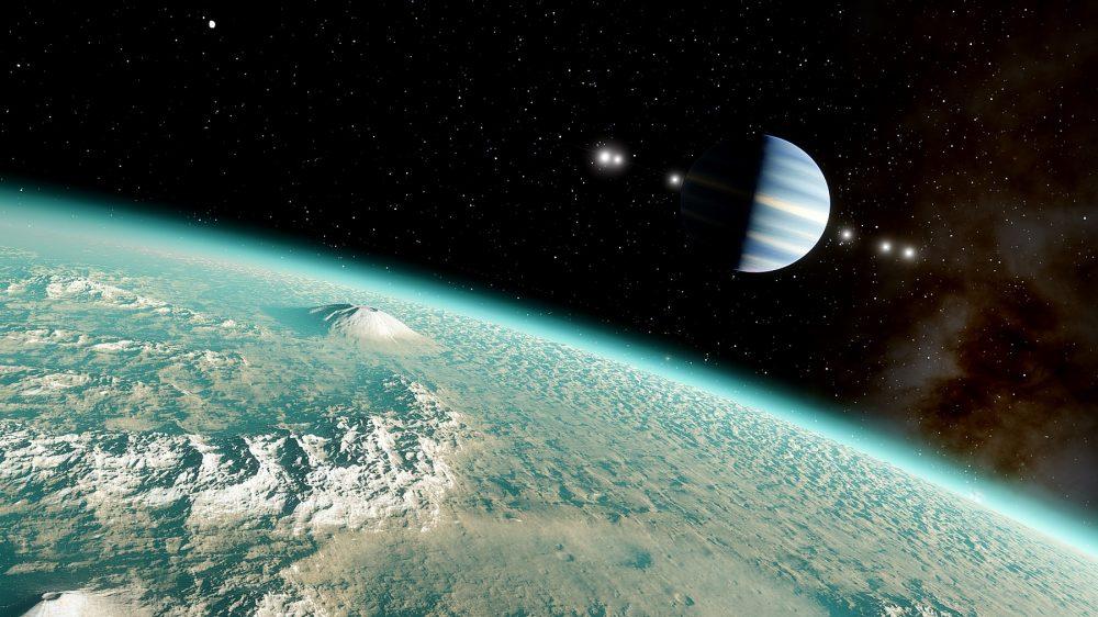 An artist's rendering of a super Earth. Shutterstock.
