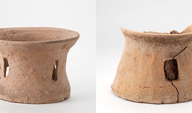 Researchers uncovered a total of 31 ancient Chinese pottery kilns, some of which were extremely sophisticated. Image Credit: Xinhua.