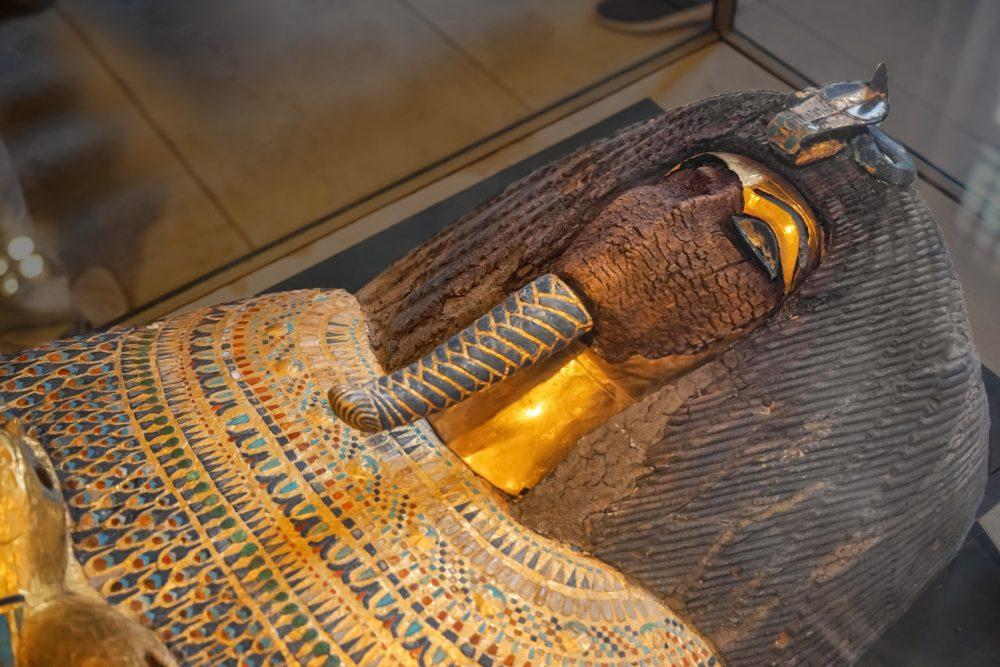 An Image of an ancient Egyptian mummy. Shutterstock.