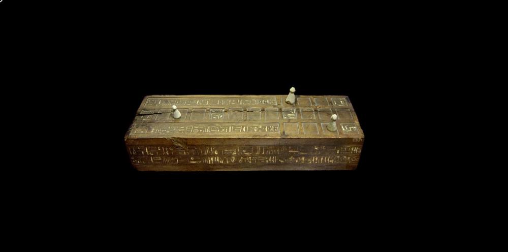 An illustration of the ancient Egyptian board game Senet. Image Credit: https://ancientegypt.fandom.com.