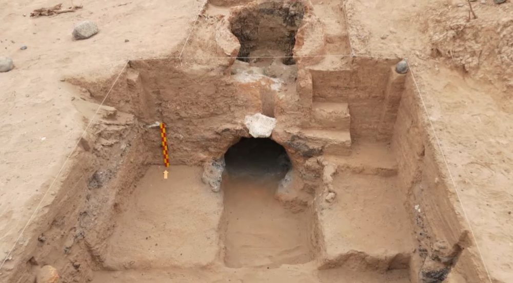 A Screenshot showing one of the ancient smelting furnaces of the Inca Empire. Image Credit: Agencia CTyS-UNLaM.