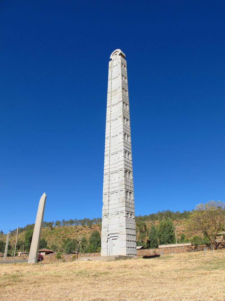 An image of the Obelisk of Axum, Ethiopia. Shutterstock.