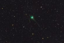 A view of Comet SWAN. Image Credit: E. Guido, M. Rocchetto, A. Valvasori.