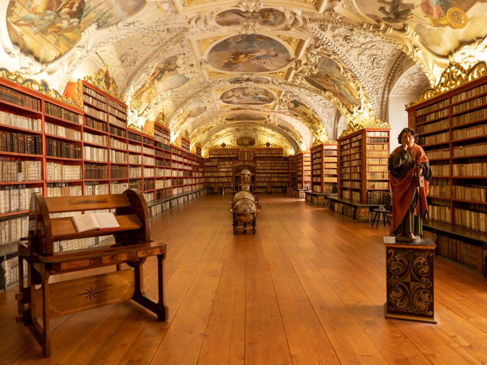 The National Library of the Czech Republic also stores older material from Turkey, Iran and India. Shutterstock.