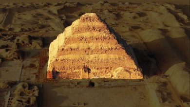 Photo of Check Out 10 Baffling Aerial Images of Ancient Egypt's Oldest Pyramid