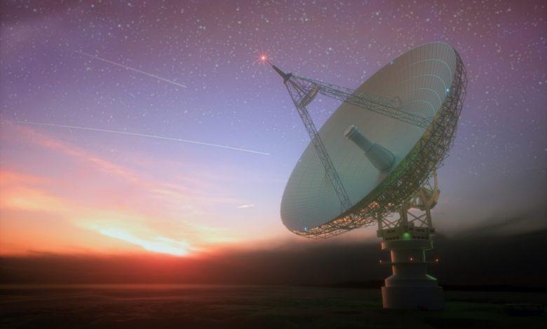 A massive telescope. Shutterstock.