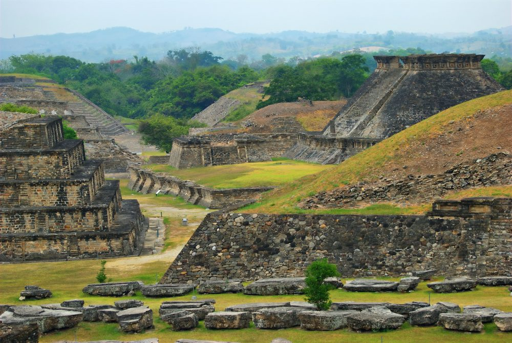 The archaeological site of El Tajin in present-day Mexico. Shutterstock.