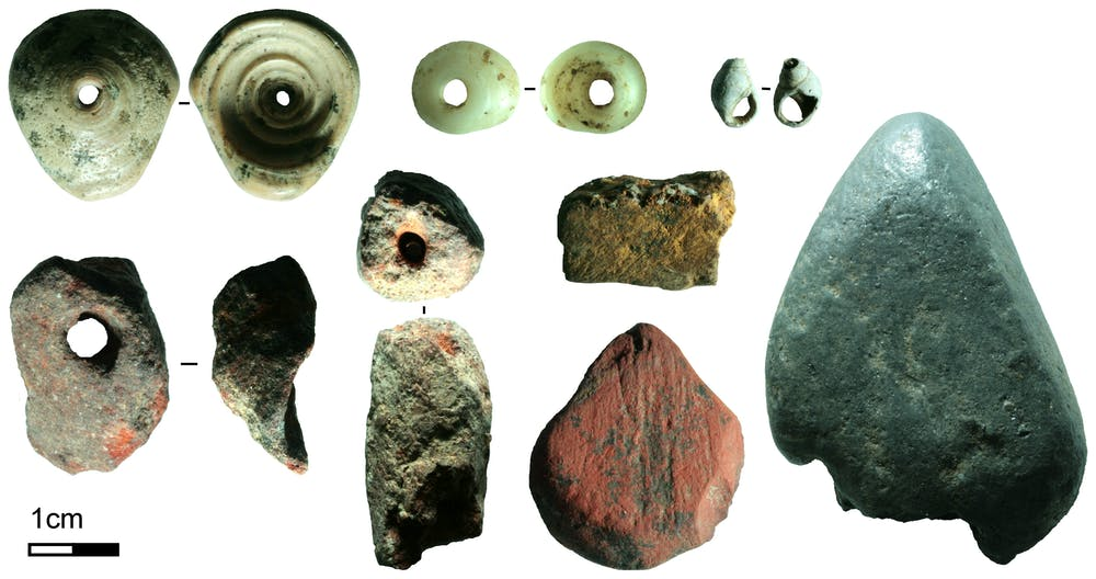 An image showing the plethora of artifacts experts recovered from the cave. Image Credit: M. C. Langley.