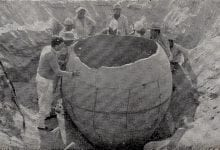 An image of the massive clay pot discovered in Peru. Image Credit: Editora ItalPeru.