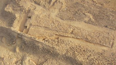 Photo of Archaeologists Find Massive 8,000-Year-Old Triangle-Shaped Monument in Saudi Arabia