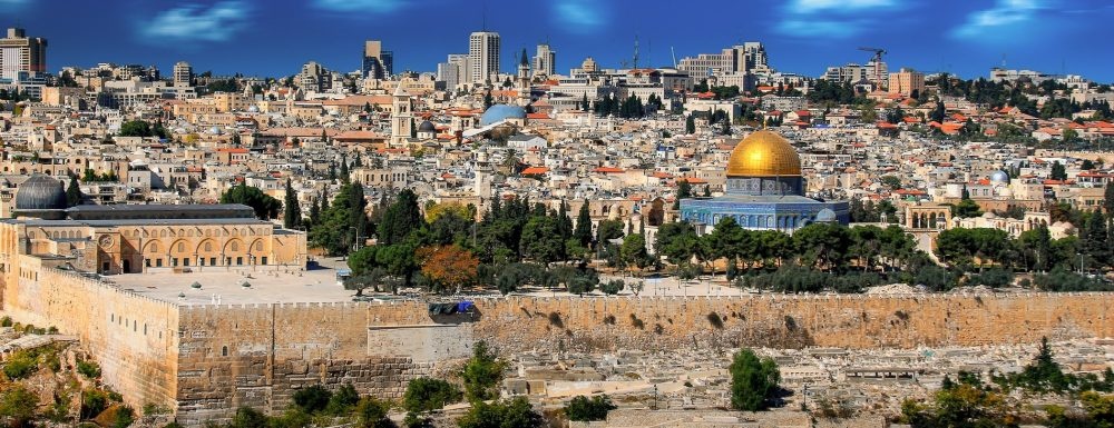 A view of the old city of Jerusalem. Jumpstory.