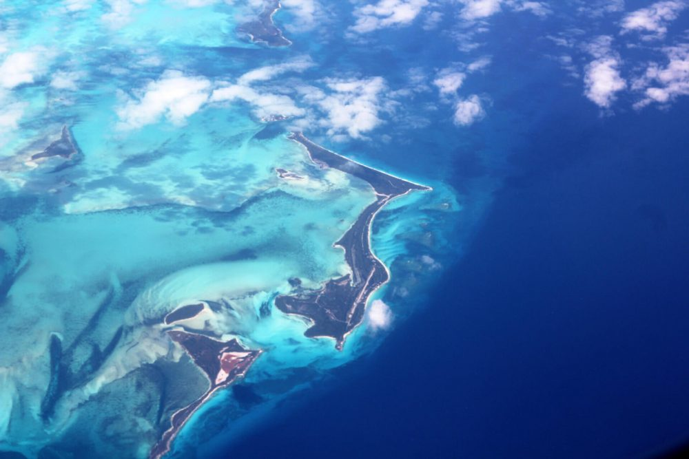 An aerial view of the Caribbean. Jumpstory.
