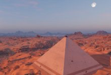 An artists rendering of an ancient Egyptian Pyramid. Jumpstory.