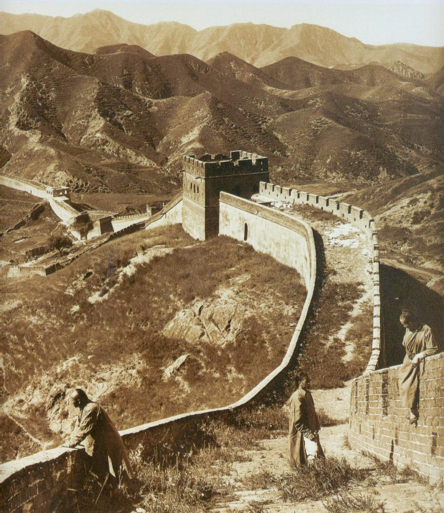 An image of one part of the Great Chinese Wall. Jumpstory.