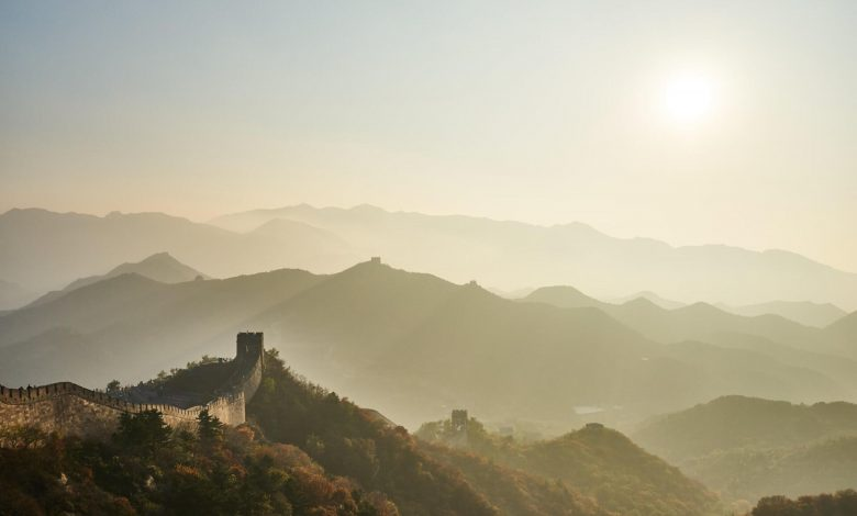 An Image showing the Great Wall of China. Jumpstory.